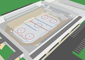 Extra Large Ice Rink