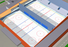 Large Ice Rink